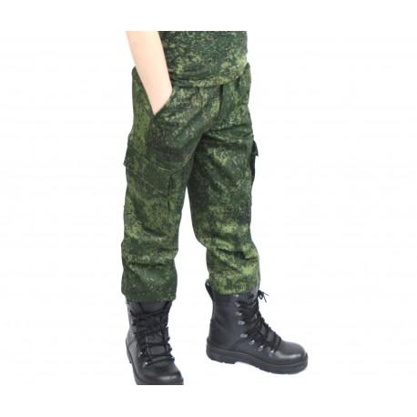 Детские камуфлированные брюки Цифра