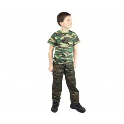 Детские камуфлированные брюки