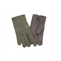 Оригинальные перчатки немецкой армии BW. Кожа, флектарн.