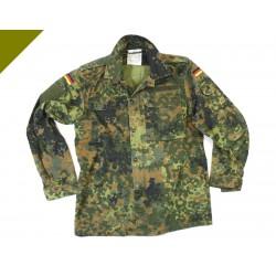 Оригинальная полевая летняя куртка. Немецкая армия. Флектарн.