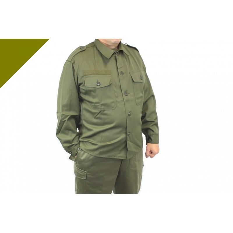 ffc3d367f3642 Оригинальная летняя полевая рубашка армии Австрии. Оригинальная летняя  полевая куртка М85. Чешская армия. Loading zoom