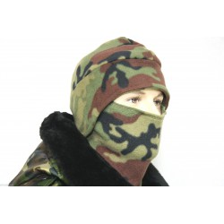 WINTER MÜTZE KAPPE MIR MASKE FLEECE