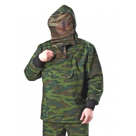 Летний камуфлированный костюм с противомаскитной сеткой