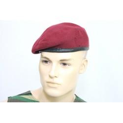 Оригинальный берет немецкой армии BW. Цвет бордо.