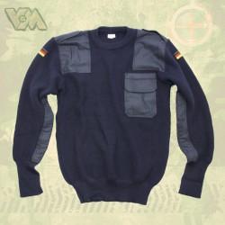Оригинальный шерстяной свитер. Немецкая полиция.