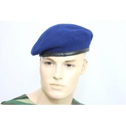 Оригинальный берет немецкой армии BW. Цвет светло-синий.